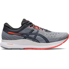 asics Evoride Scarpe Uomo, sheet rock/flash coral